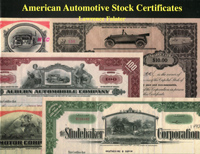 American Automotive Stock Certificates WEB