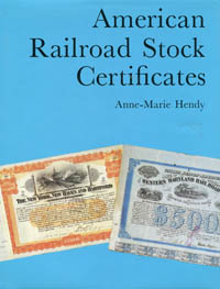 American Railroad Stock Certificates WEB