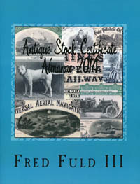 Antique Stock Certificate Almanac 2014 WEB