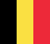 Belgian Flag 50 pixels wide