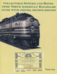 Collectible Stocks and Bonds from North American Railroads WEB