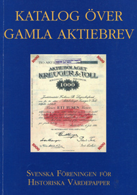 Katalog Over Gamla Aktiebrev WEB