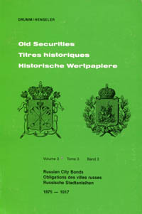 Old Securities Volume 3 Russian City Bonds WEB