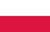 Poland flag 50 pixels wide