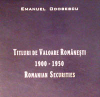 Romanian Securities Issued in the First Half of the XXth Century WEB