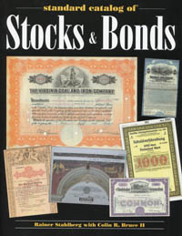 Standard Catalog of Stocks & Bonds WEB