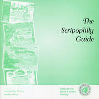The Scripophily Guide WEB