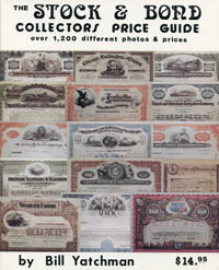 The Stock and Bond Collectors Price Guide WEB