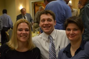 Chris LaBarre and friends at the Saturday Breakfast